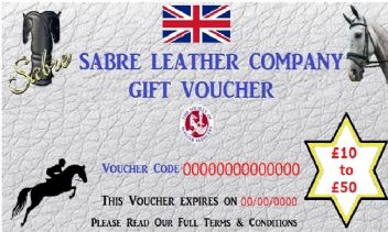 Sabre Gift Vouchers. Gift Ideas